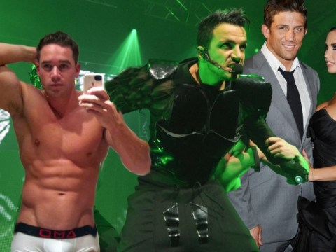 Peter Andre v Alex Reid v Kieran Hayler: Celebrity Face Off