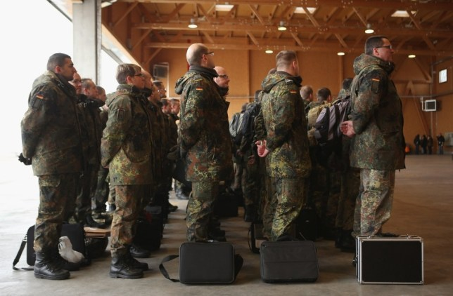 German soldiers grow breasts