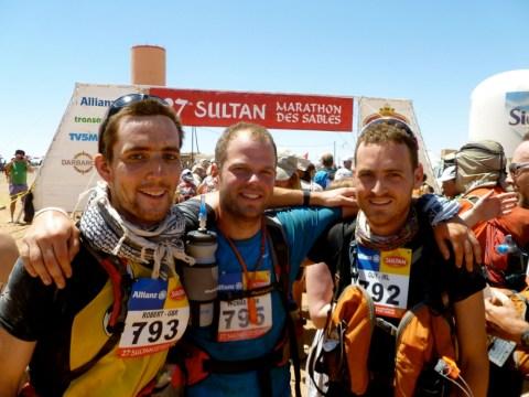 Three friends to run 39 marathons in 33 days to raise money for child trafficking charity