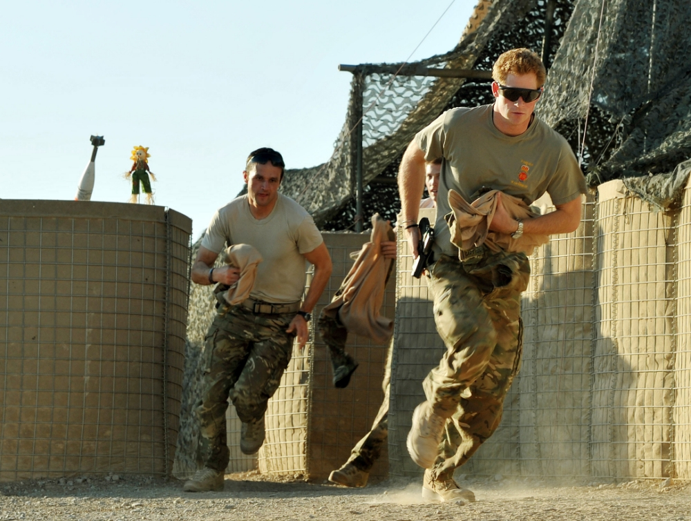 Prince Harry – just a tin-soldier?