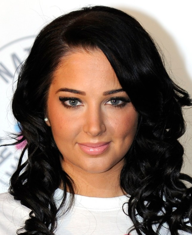 Bad Luck: Tulisa Contostavlos has had her fair share of unhappy times since entering the limelight (Picture: PA)