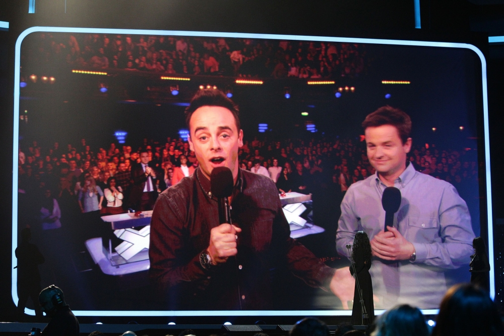 Ant and Dec 'overwhelmed' as they win best presenters gong at National Television Awards for twelfth year in a row