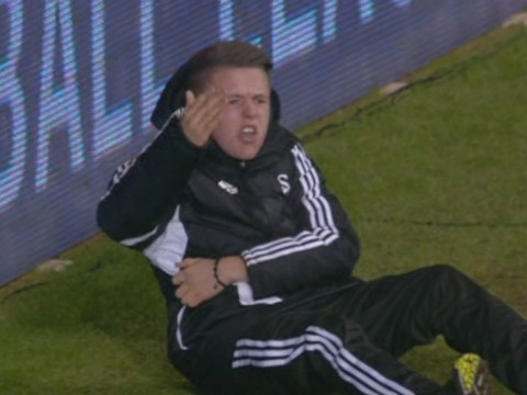 Swansea ball boy 'goes into hiding after receiving death threats' from Hazard fans