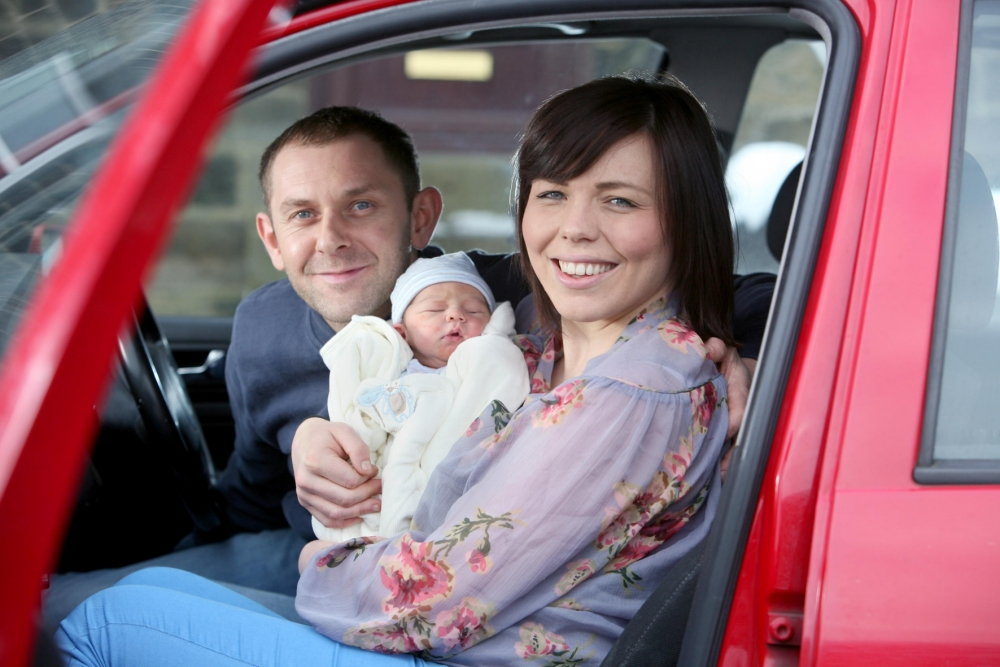 Baby born in traffic jam after hospital dash delays