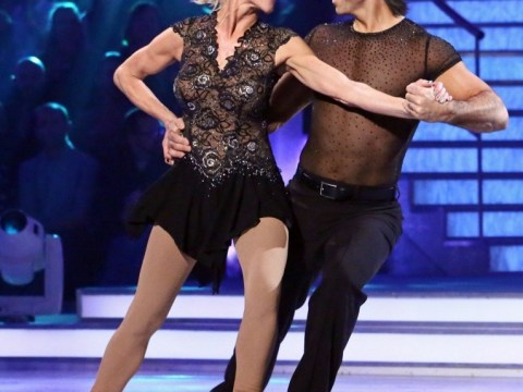 Anthea Turner booted off Dancing On Ice after 'school disco' week