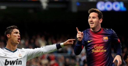 Rivals: Ronaldo and Messi are the best two players in the world