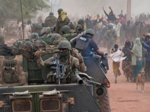UK troops sent out to Mali 'won't drag us into war'