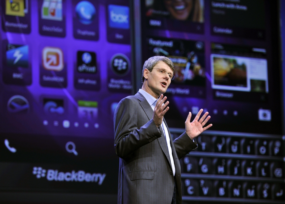 RIM launches BlackBerry 10 that is 'beyond anything you've seen before'