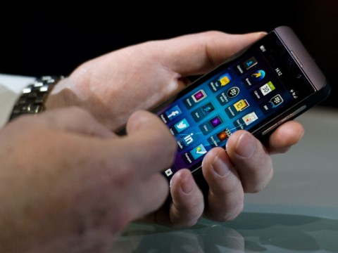 Gallery: The BlackBerry Z10 mobile 2013