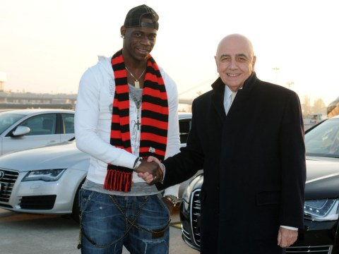 Mario Balotelli completes Milan move – but won't rule out Manchester City return