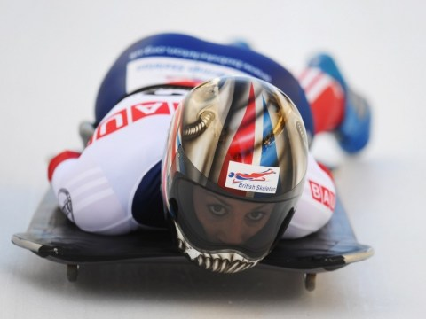 Britain's Shelley Rudman closing in on world skeleton bob title