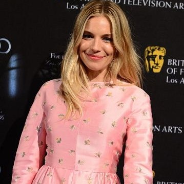 Sienna Miller flies the flag for Britain at BAFTA LA Awards Season tea party