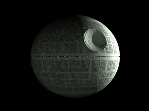 Star Wars fans raise £75,000 to build a Death Star