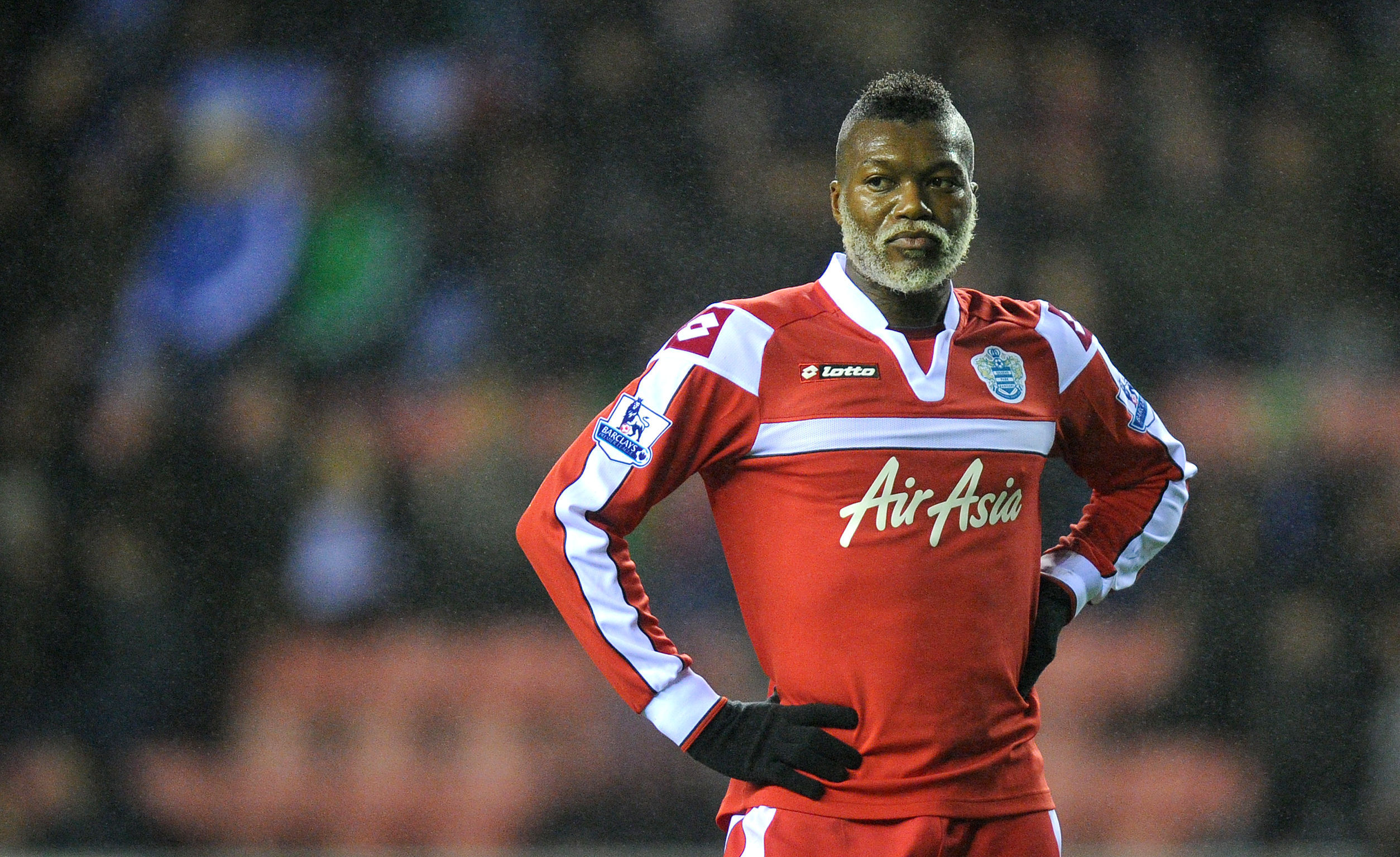 Style king: Djibril Cisse fancies himself a style icon (Picture: PA)