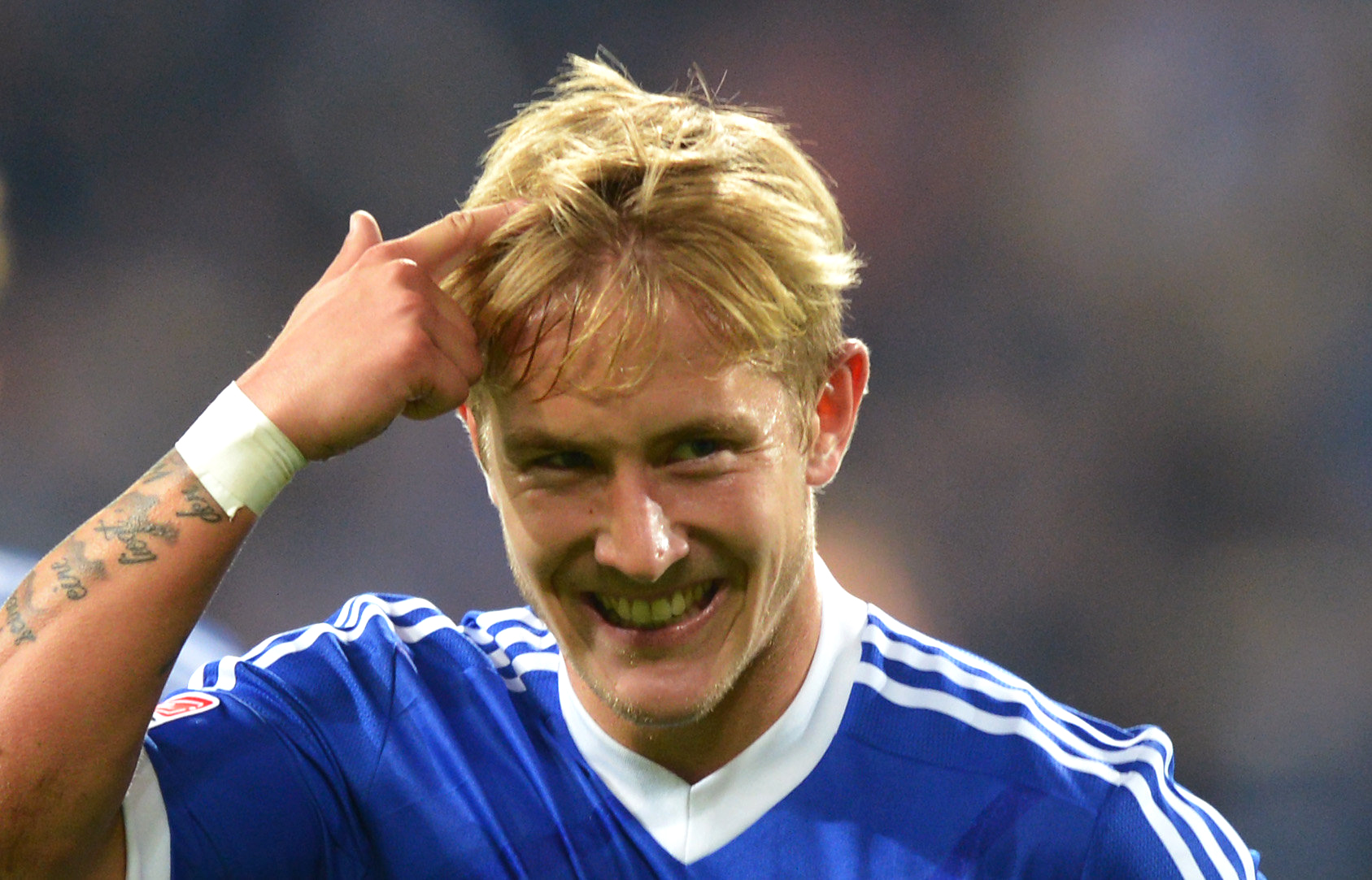 Top talent: Lewis Holtby is heading to the Premier League (Picture: AP)