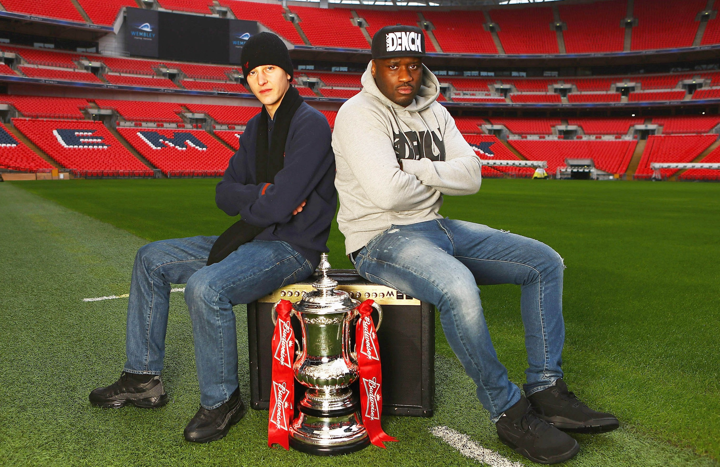 Grime stars battle it out to be new sound of FA Cup