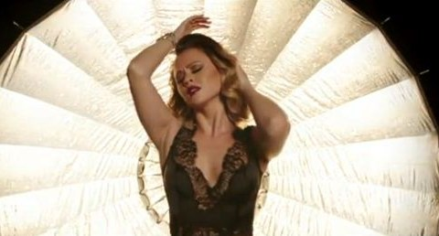 Kimberley Walsh teases fans with new single video clip