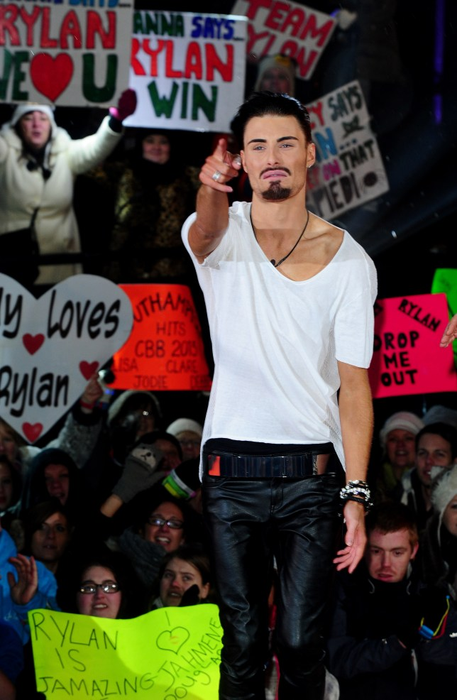 Celebrity Big Brother Final, Rylan Clark