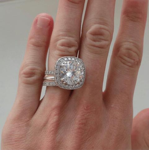 Peaches Geldof flaunts huge diamond ring after belated honeymoon