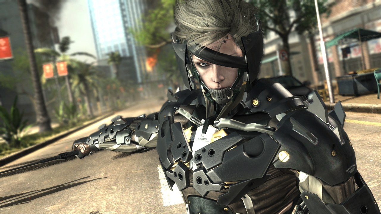 Metal Gear Rising: Revengeance – party to win