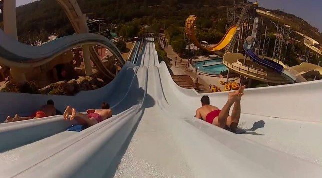 Water slide tester wanted by First Choice