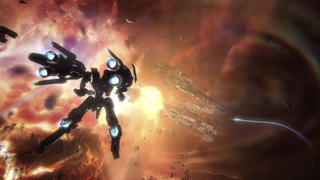 Strike Suit Zero (PC) – you'll need more than a barrel roll