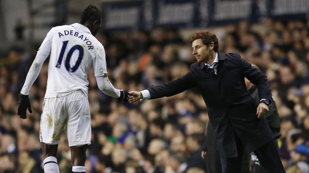 Andre Villas-Boas wary of losing Spurs striker Emmanuel Adebayor to Africa Cup of Nations