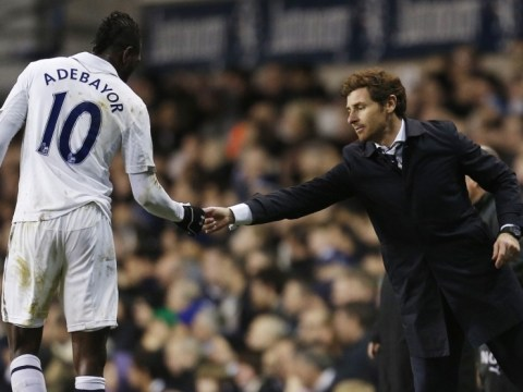 Andre Villas-Boas wary of losing Spurs striker Emmanuel Adebayor to Africa Cup of Nations