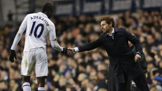 Tottenham could be without the services of Emmanuel Adebayor for a month (Picture: Reuters/Action Images)
