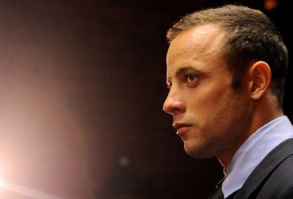 Grieving Oscar Pistorius to hold service for his model girlfriend Reeva Steenkamp