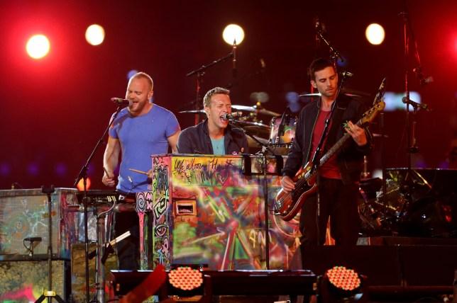 2012 London Paralympics - Closing Ceremony, Coldplay