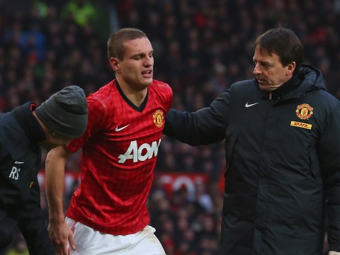Nemanja Vidic back fit for Manchester United but Paul Scholes out for a fortnight