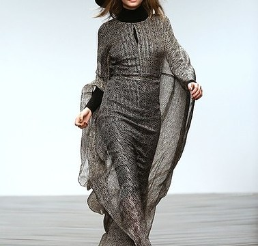London Fashion Week: Issa invokes spirit of native Navajo Indian