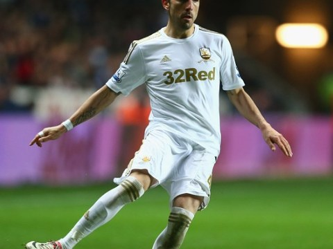 Swansea's Chico Flores faces tough fitness battle ahead of Capital One Cup final