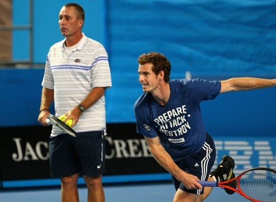 Andy Murray to face coach Ivan Lendl in charity doubles match