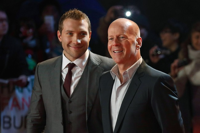 Bruce Willis reveals he has 'no plans to retire John McClane' as Die Hard 5 premieres