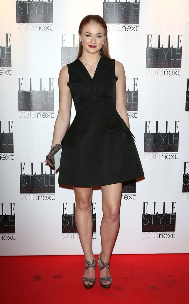 LONDON, ENGLAND - FEBRUARY 11: Sophie Turner attends the Elle Style Awards at Savoy Hotel on February 11, 2013 in London, England.