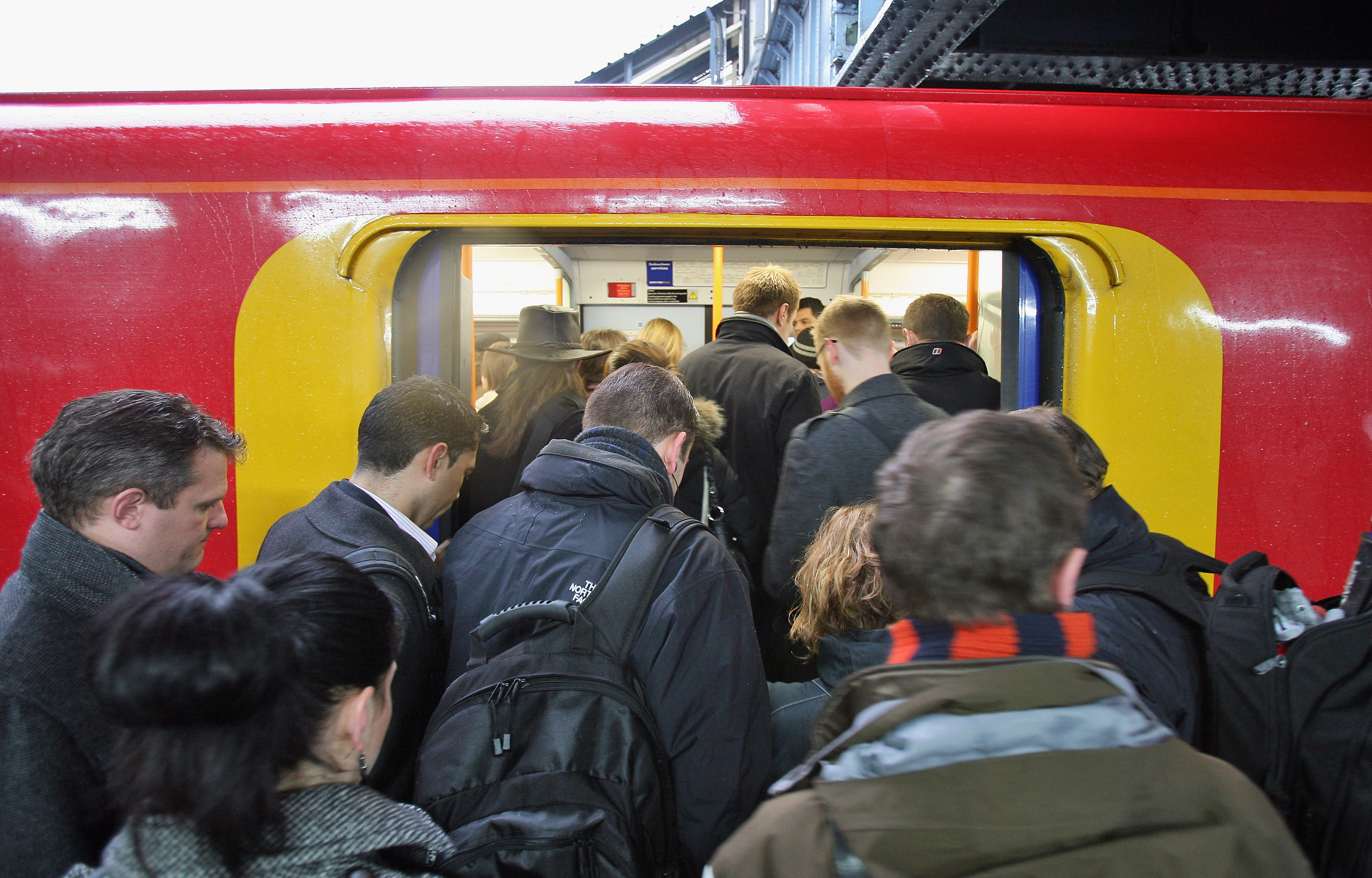 More misery for morning rail commuters as trains delayed in London and south-east