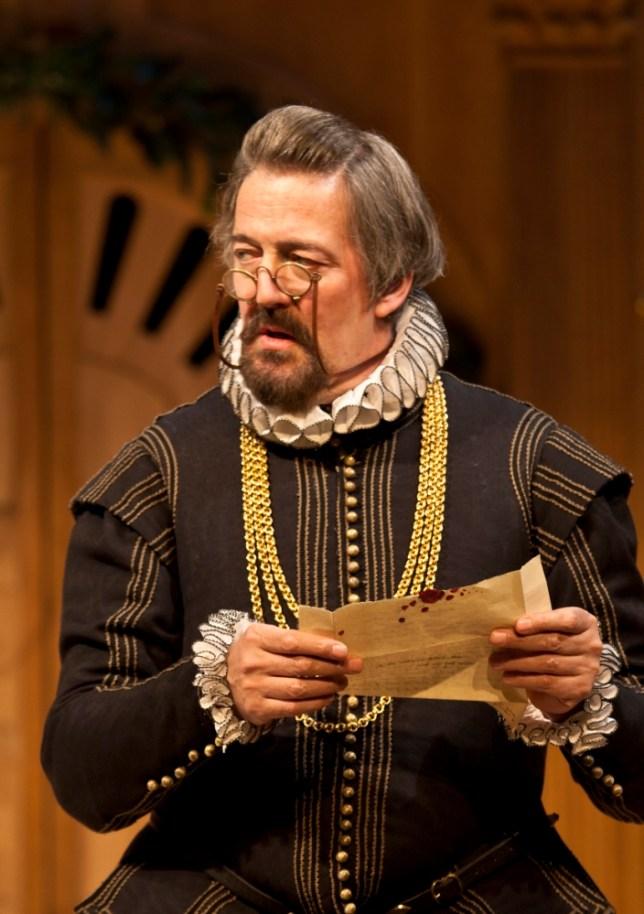 Stephen Fry as Malvolio