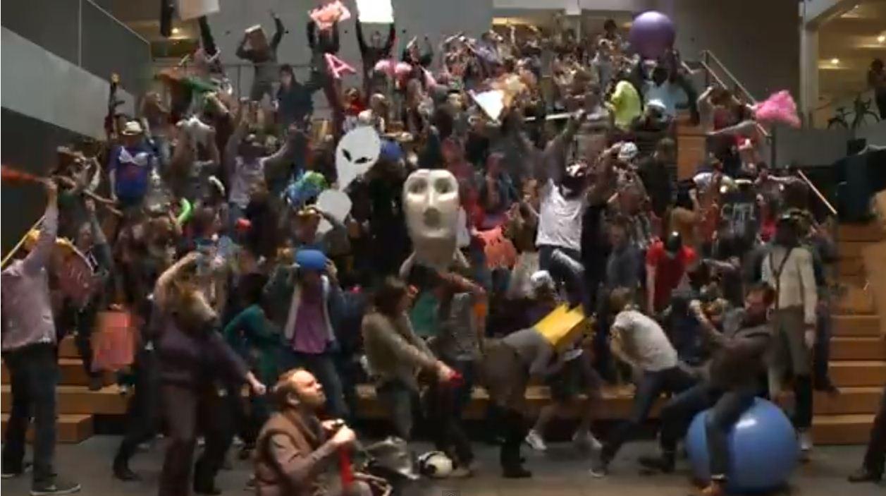 Is the Harlem Shake viral video meme the new Gangnam Style?