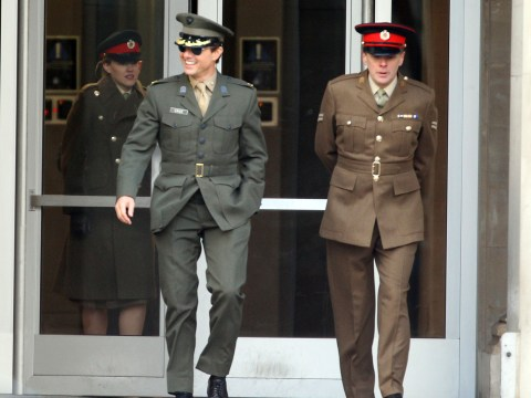 Gallery: Tom Cruise films All You Need Is Kill in London – 2 February 2013