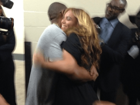 Beyoncé Knowles celebrates Super Bowl display with Jay-Z love show