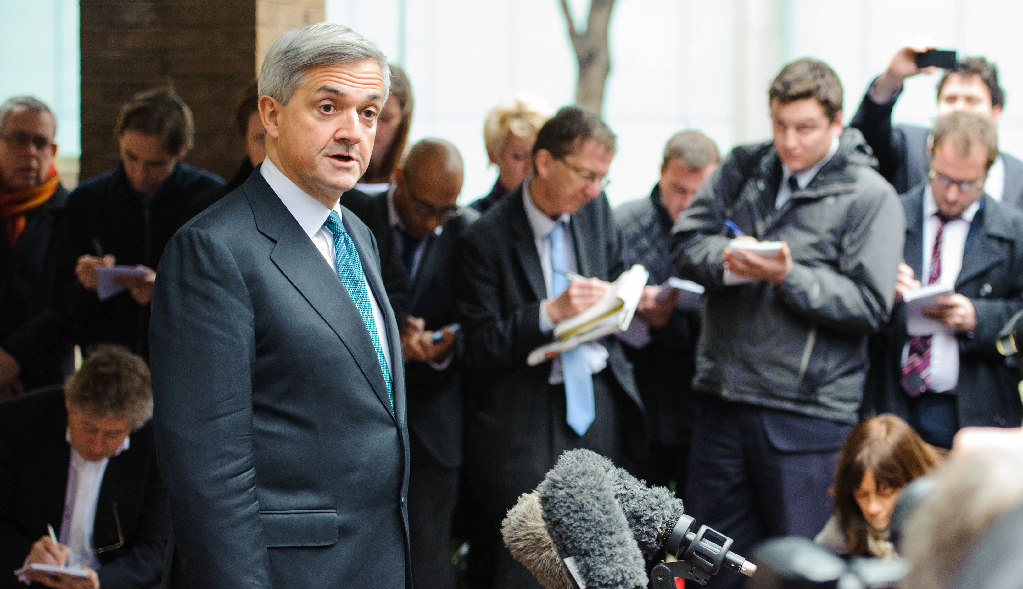 Chris Huhne's son texted father urging him to 'accept responsibility'