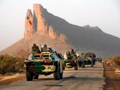 Malian army to take charge of Timbuktu as French forces press on