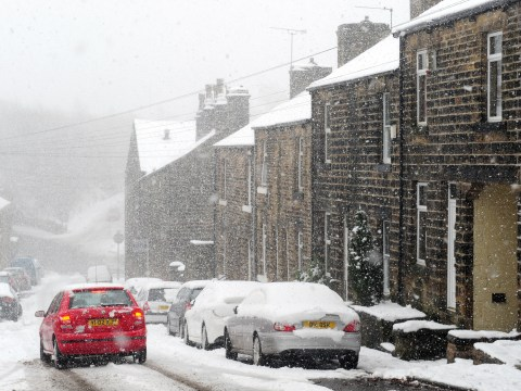Snow set to fall as gales ease with Britain braced for more travel disruption