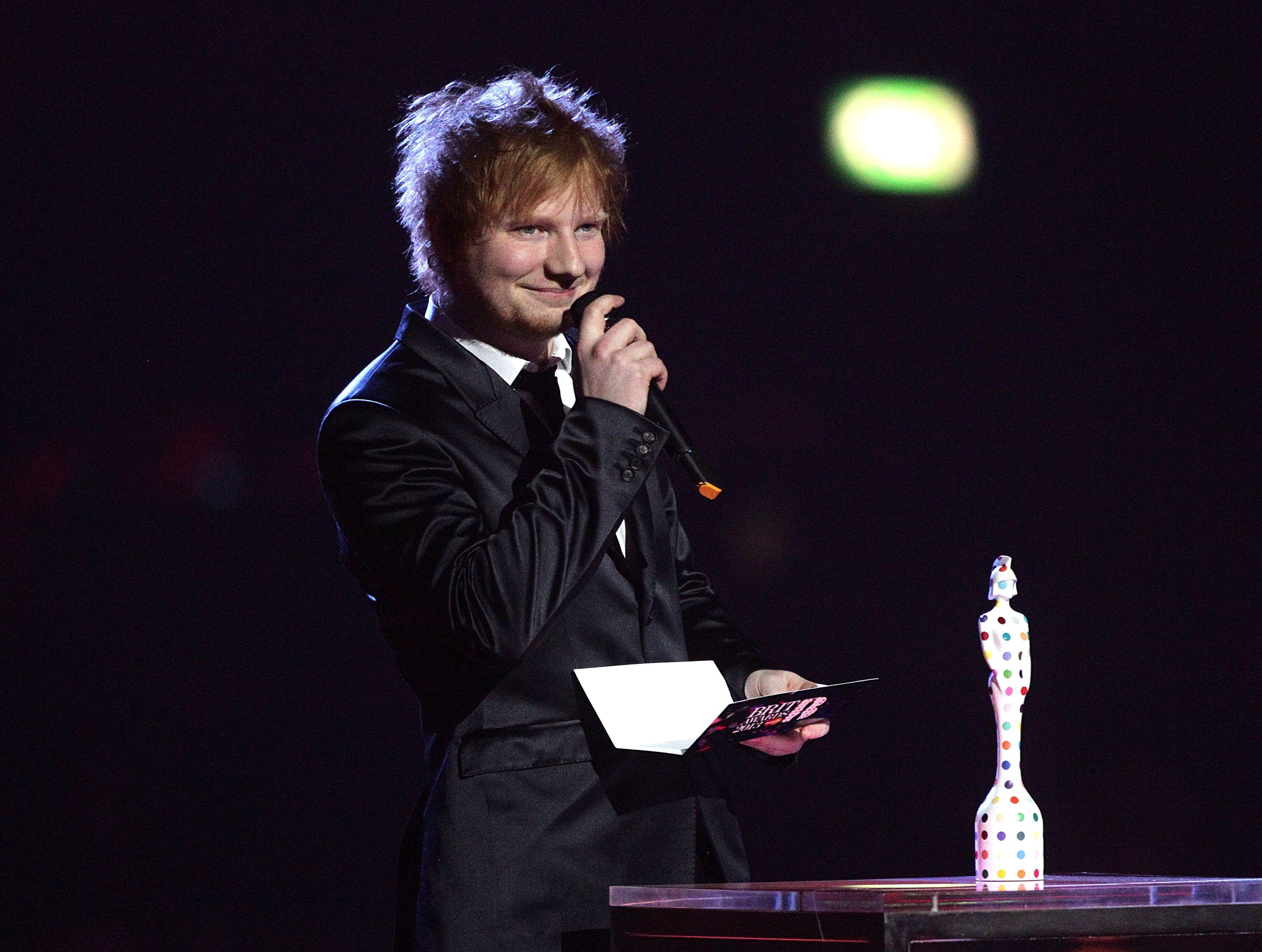 Ed Sheeran advised to keep it in his pants by Sir Elton John