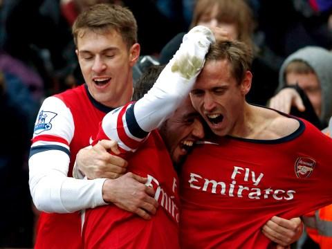 Gallery: Arsenal v Aston Villa – Premier League – 23 February 2013