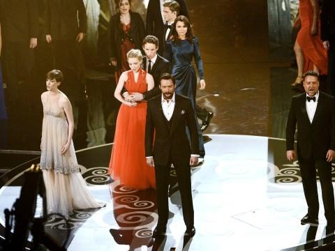 Oscars 2013: Hugh Jackman leads dazzling Les Miserables medley