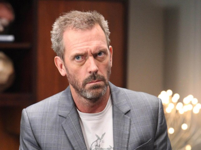 Hugh Laurie paints bleak picture of Hollywood (Picture: Universal Television Distribution)