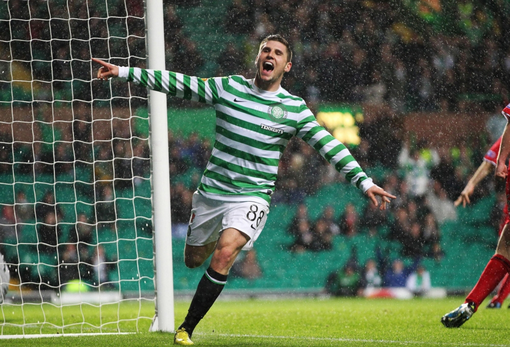 Gary Hooper can help Celtic to a famous victory over Juventus (Picture: PA)
